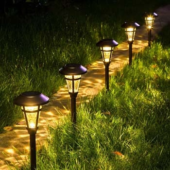 10: Solpex Solar Pathway Lights