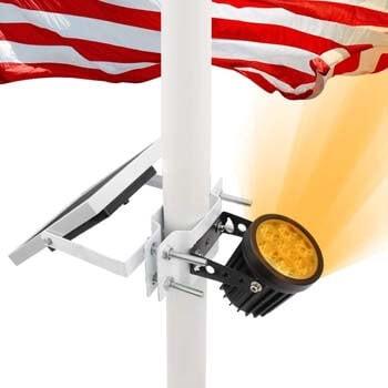 2: APONUO Solar Flag Pole Light