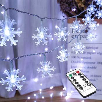 2: BrizLabs Snowflake Christmas Lights