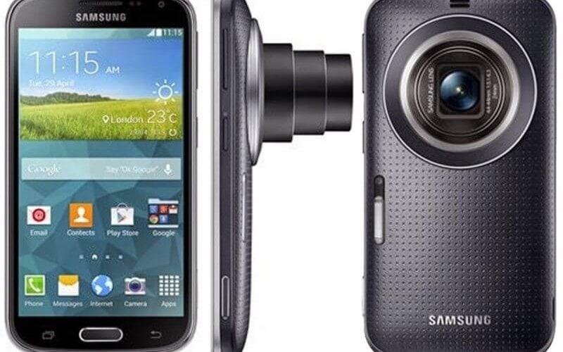 Yeni Samsung Galaxy K Zoom, kamerayı odak noktasına koyuyor