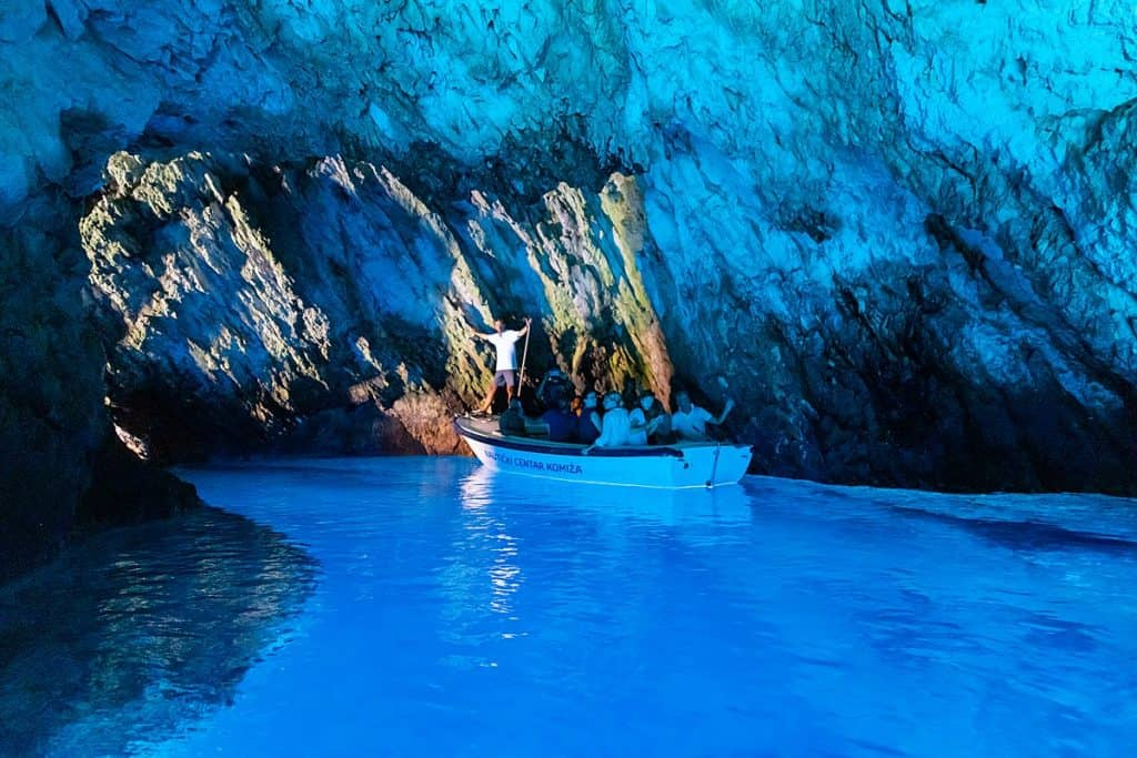 Bisevo Cave, Croatia