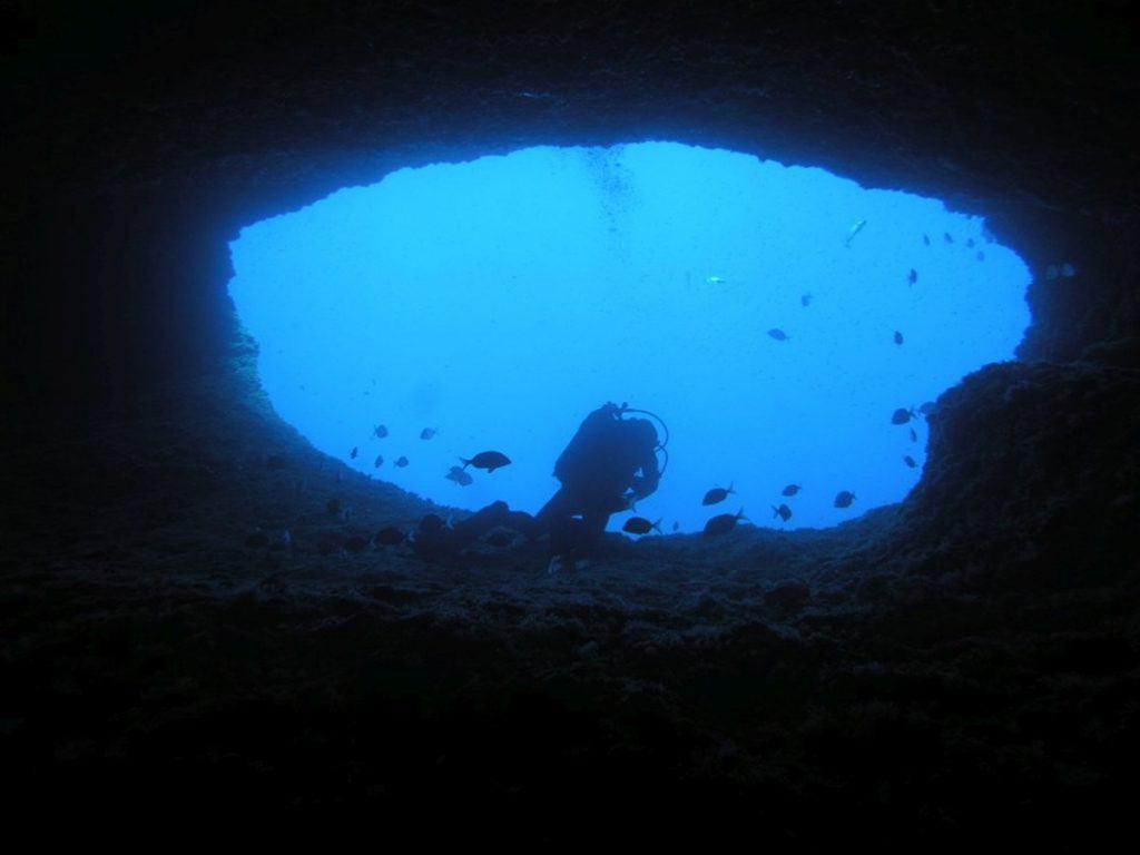 Grotta Nereo, Sardinia, Italy