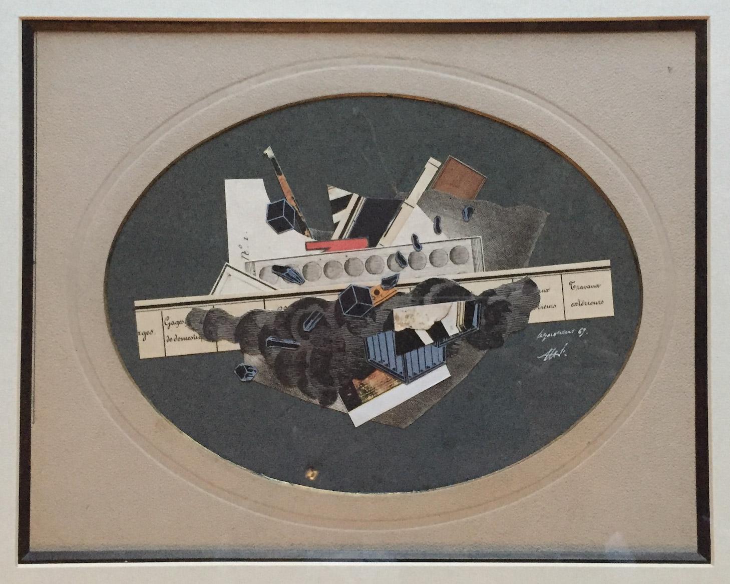 Sans-titre, 1969. Collage, coll. privée, Genève. Photo: Allen Le Yaouanc
