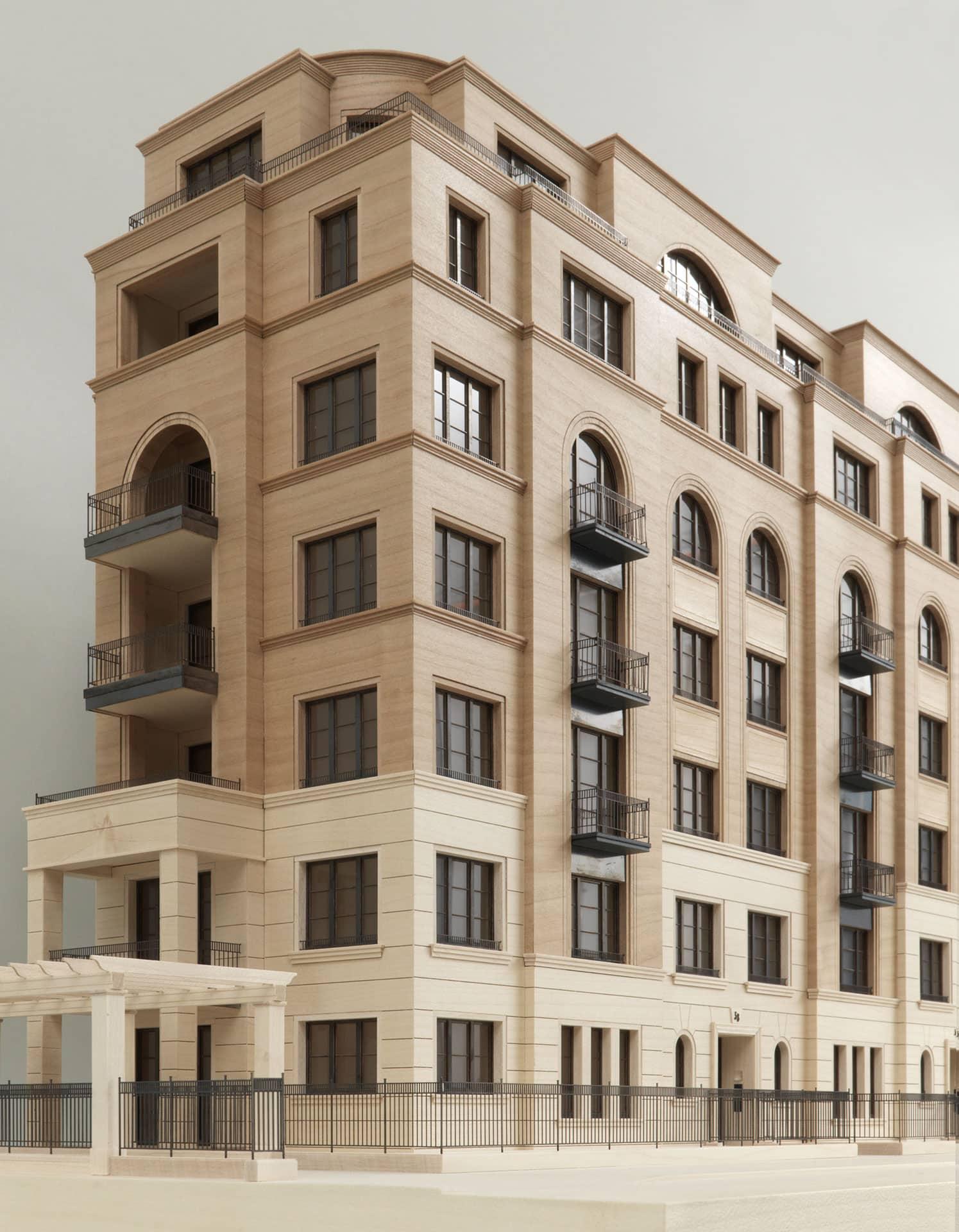 Architekturmodell Emser Straße