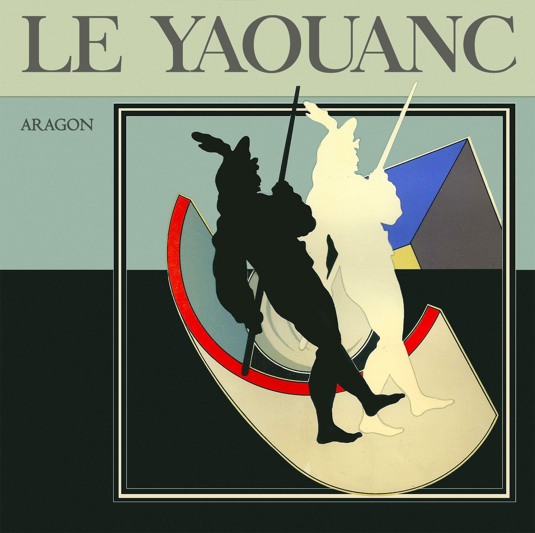 Le Yaouanc Aragon, co-édition Carmen Martinez et La Pierre d'Angle, Paris 1979. © Fondation Le Yaouanc