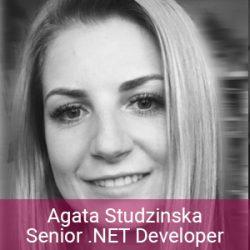 Enerex Team - Agata Studzinska Senior NET Developer