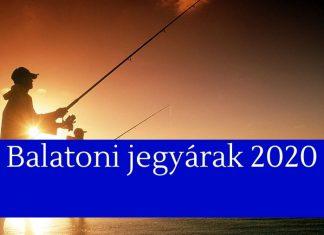 balatoni horgászjegy árak 2020