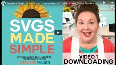 Jennifer Maker Marx SVGS Made Simple advertising