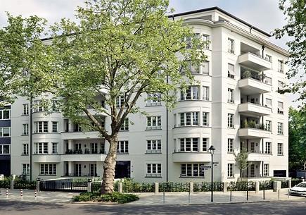 Duesseldorf-Zoo-Achenbachstrasse-Haus-Egmont-Ansicht