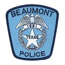 Beaumont Police emblem patch