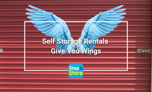 Fareham Self Storage Rentals Give You Wings