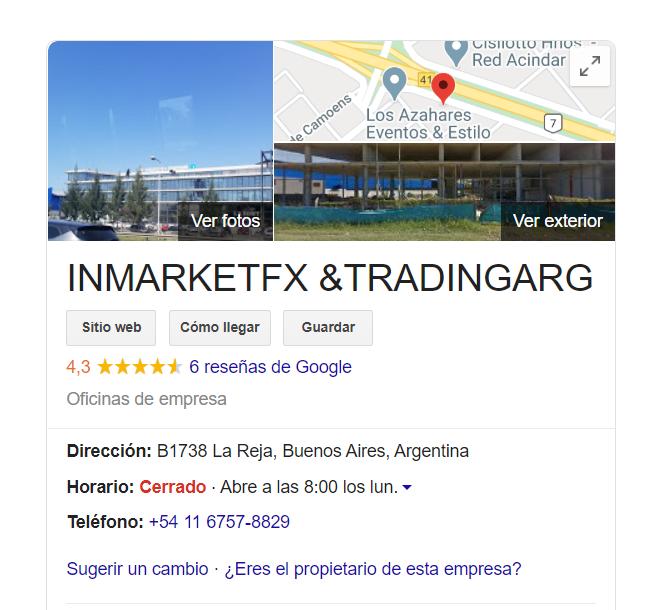 Estafa Criptomonedas Piramidal Estafa Broker Falso Crypto IM Exchange Tradingarg Inmarkets FX 3