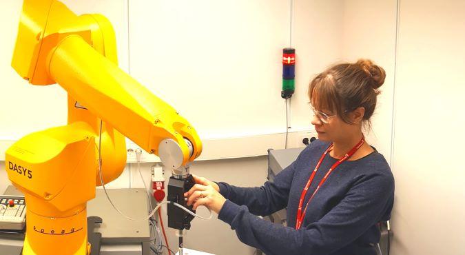 SAR Testing robot Dasy 5 in SAR Laboratory