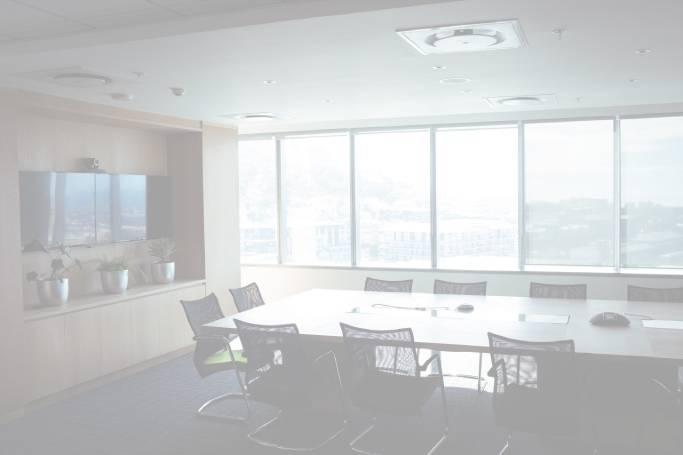 clean boardroom