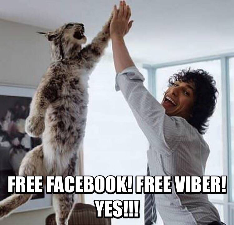 FREE Facebook and Viber on top Globe promos and plans