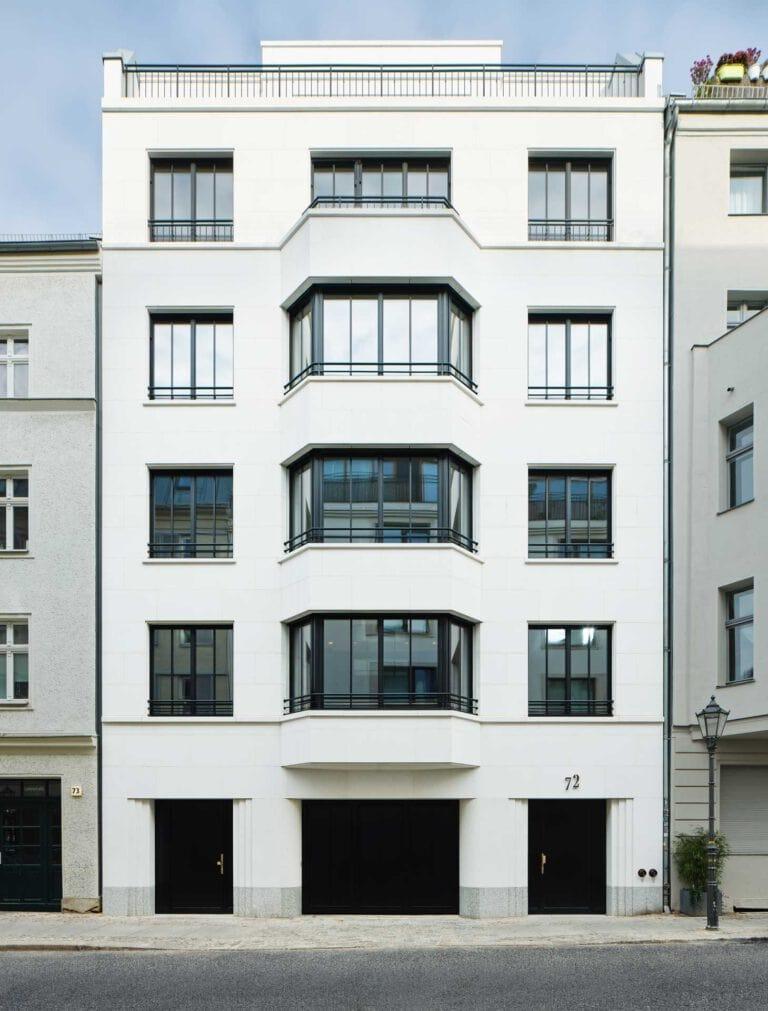 Berlin-Mitte Linie72 Fassade