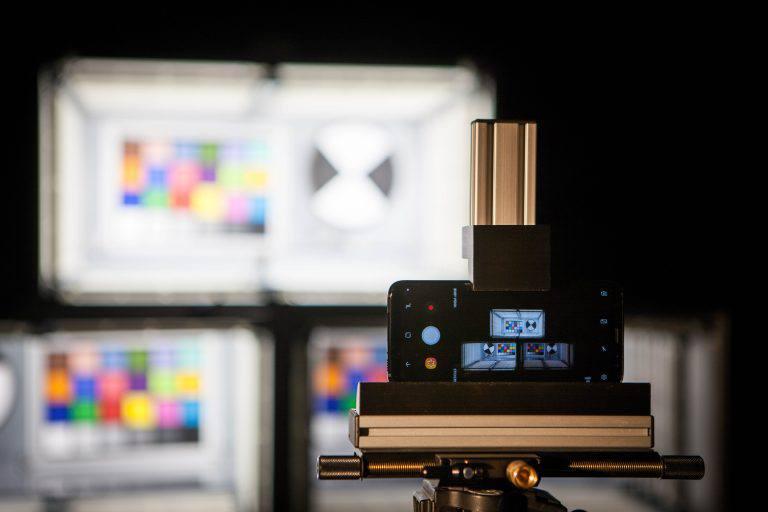 High dynamic range (HDR) testing lab