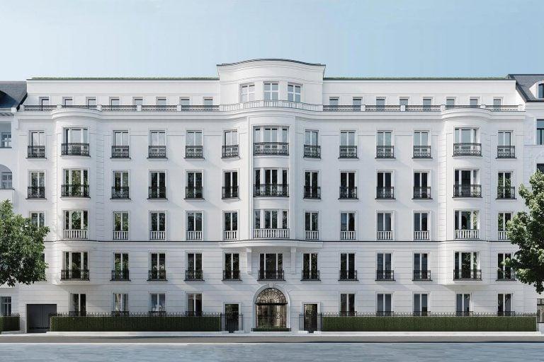 Baukultur Architektur Eisenzahn Visualisierung