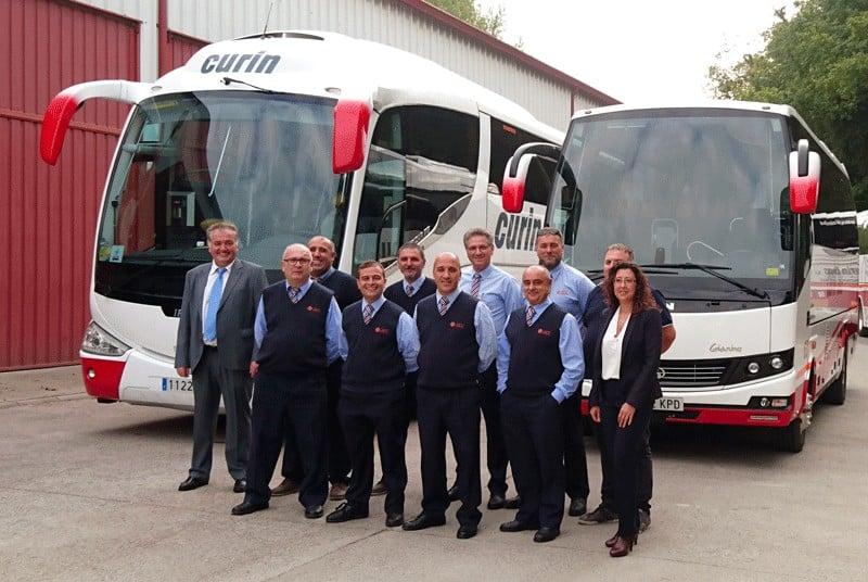 Curin Bus  Profesionales Plantilla