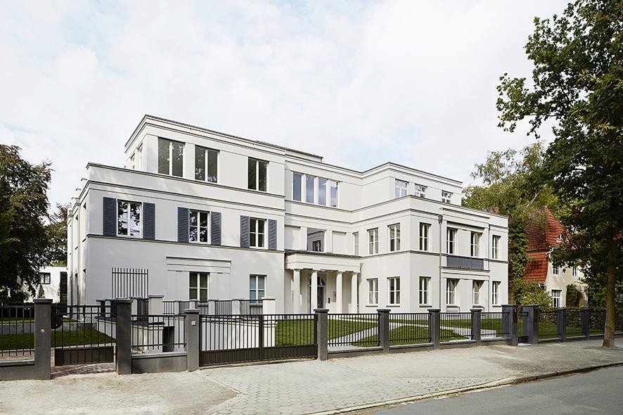 Hamburg-Othmarschen Haus-Bahren Aussenansicht