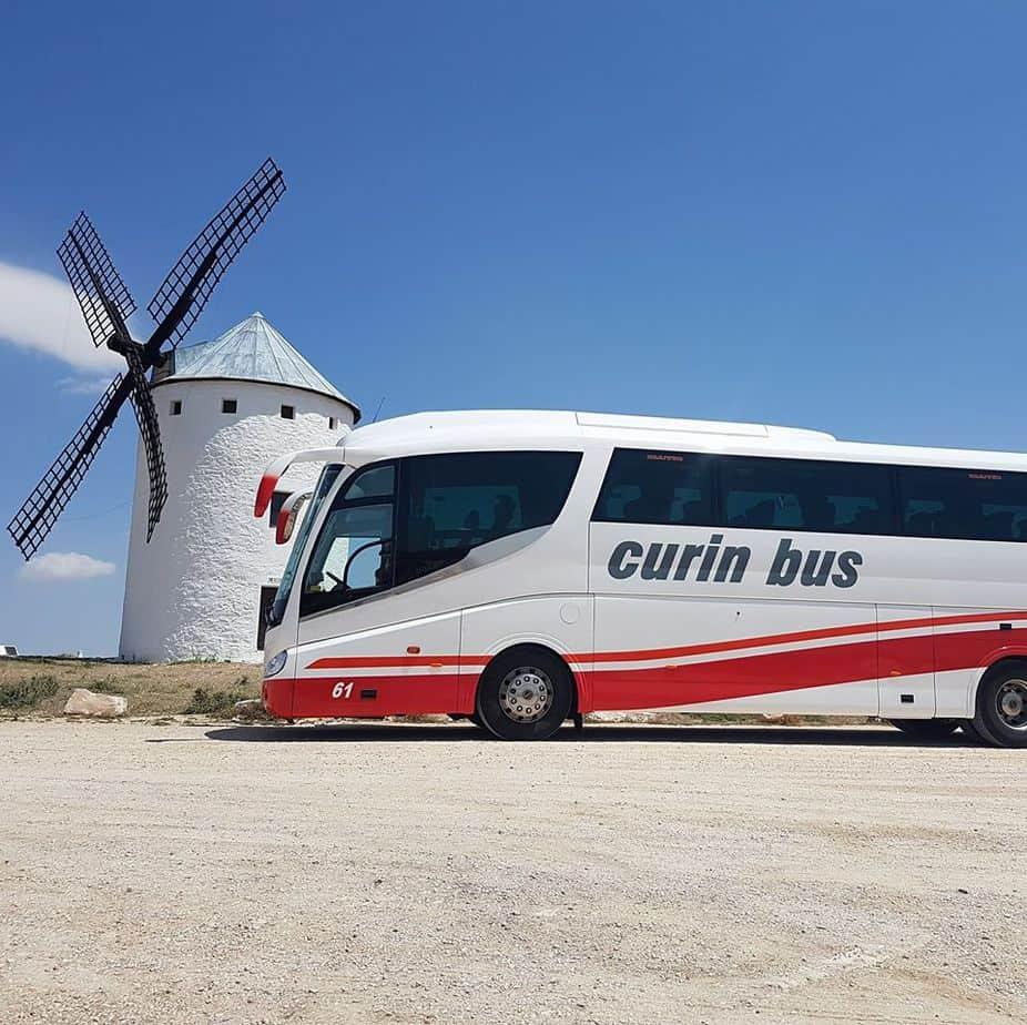 Curin Bus alquiler de autocares y microbuses en Oviedo Asturias