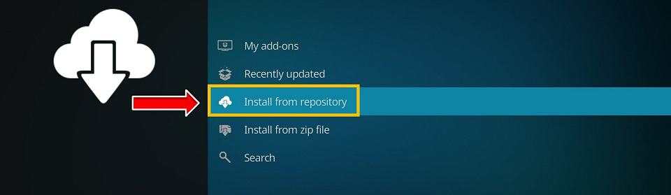 click install from repository