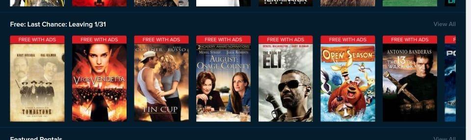 free movies on vudu firestick