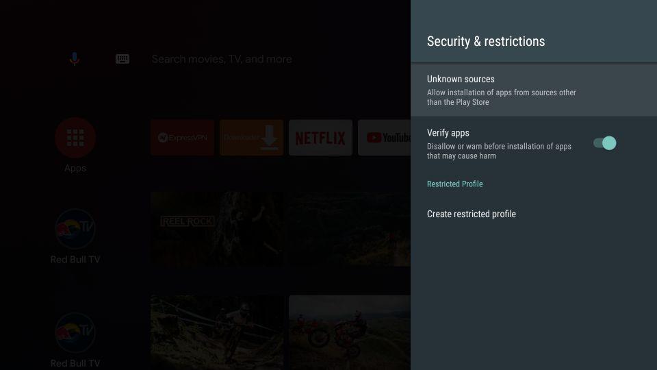 download nova tv apk on android tv box