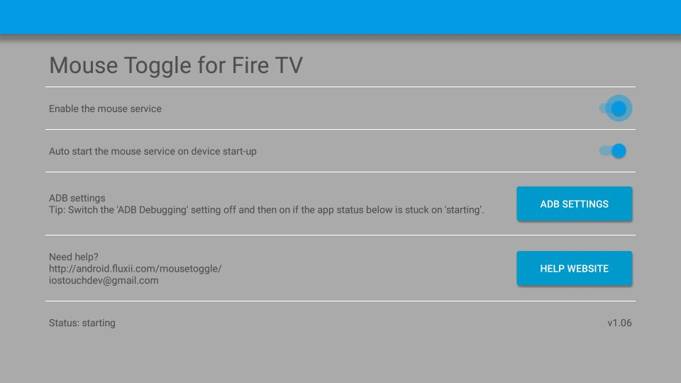 How to install mouse toggle for fire tv