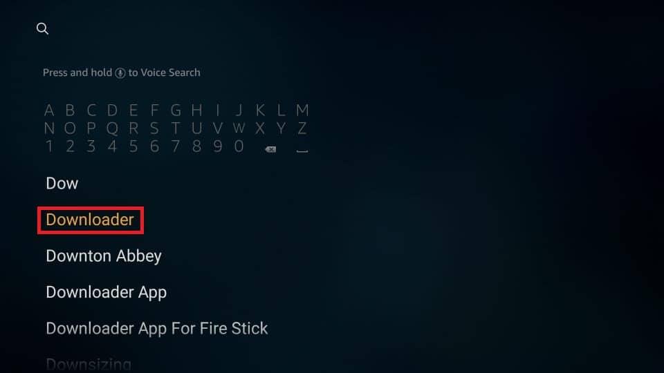 download MX Player APK on Firestick