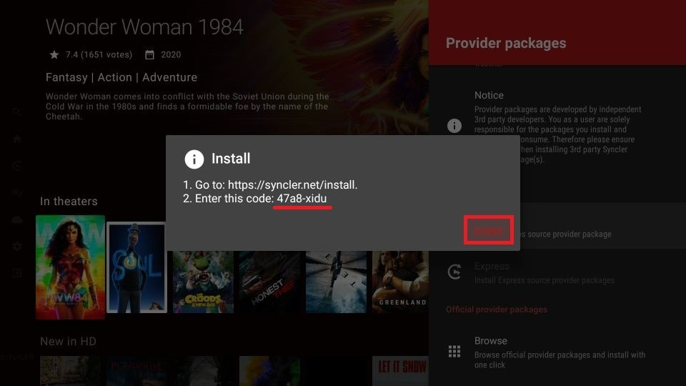 how to install Syncler on FireStick