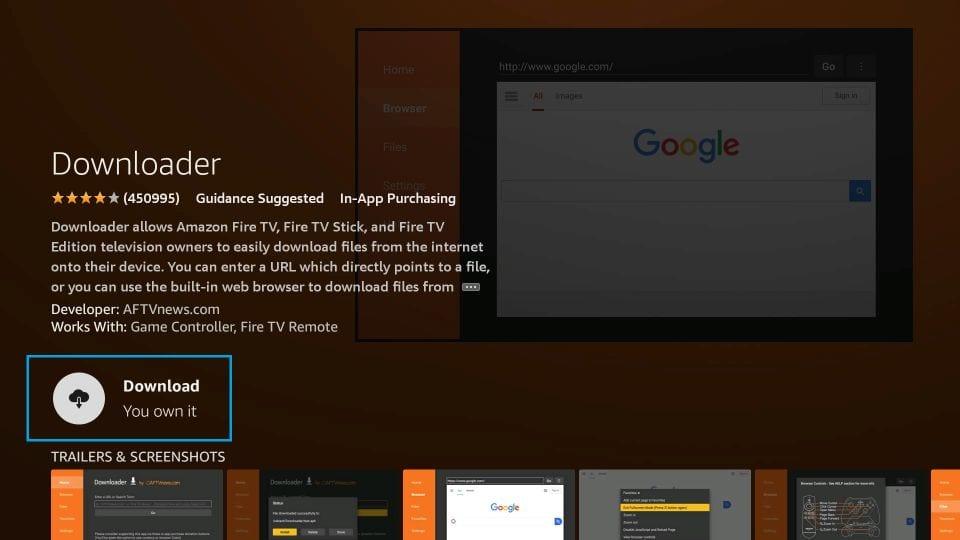 download Media Lounge APK on Firestick