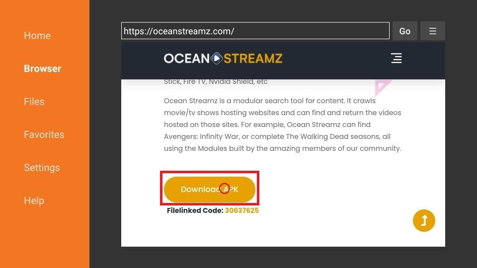 steps to install Ocean Streamz