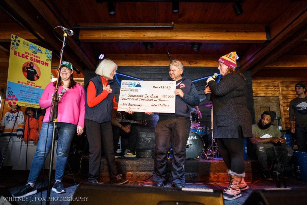 WinterKids gives $25,000 to Sugarloaf Ski Club fund