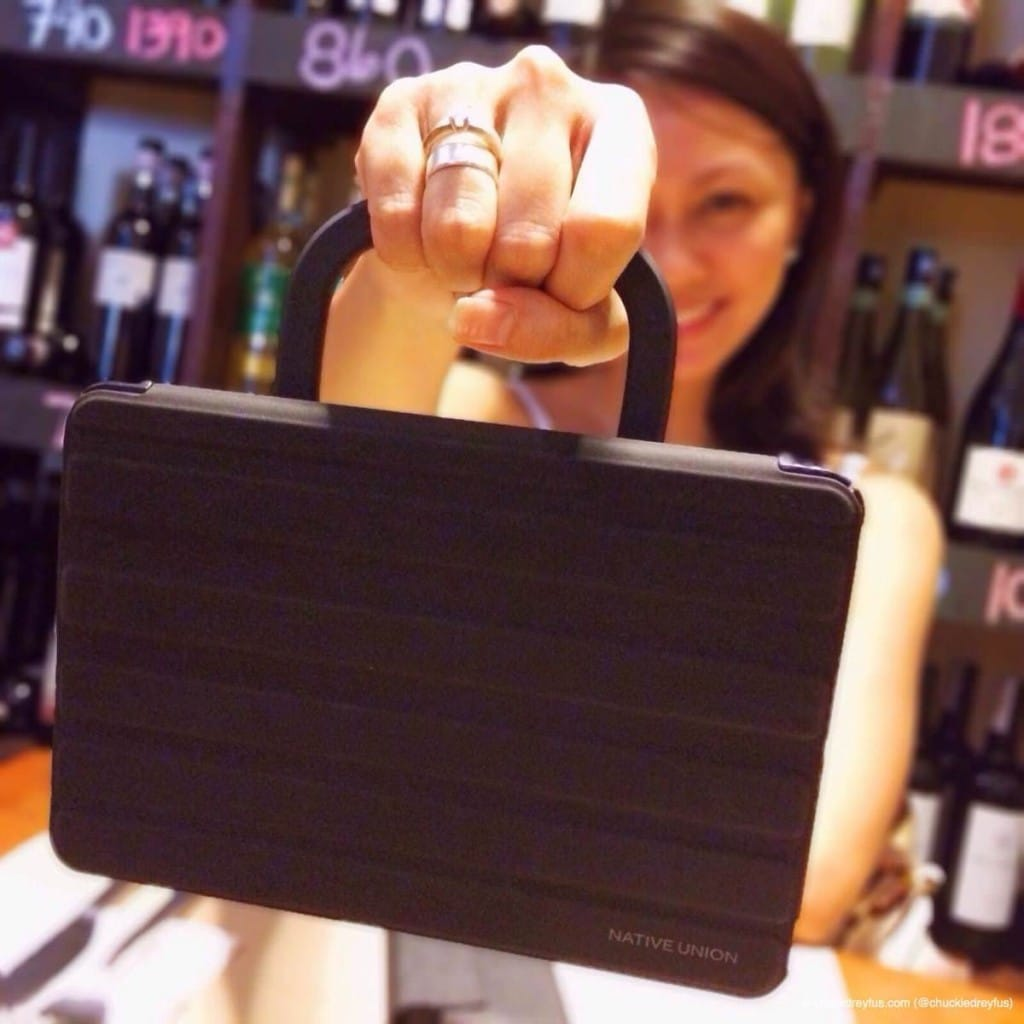 Get A Grip On Your iPad Mini with the Gripster Wrap by Native Union