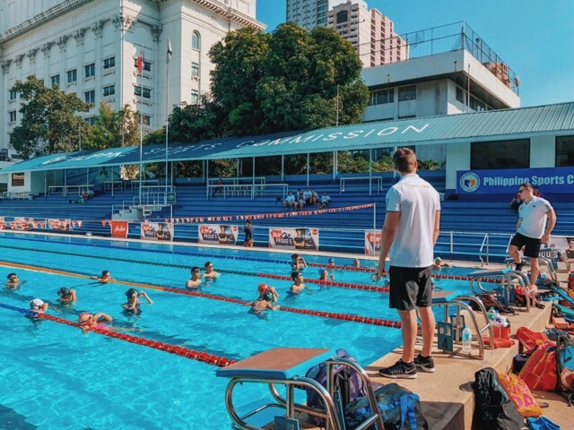 AirAsia and Ben Proud's Talent Pool 2018 bring Olympians to train young Filipino swimming talents