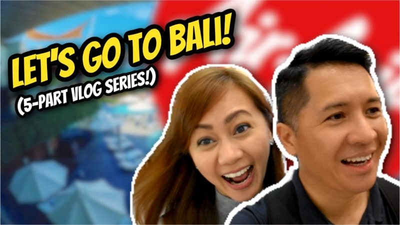 VLOG PLAYLIST: Let's go to Bali, Indonesia!