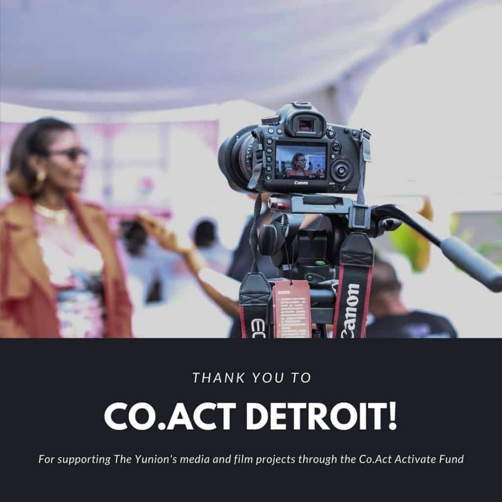 Thank You To Co.Act Detriot!