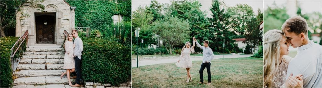 Chicago engagement session inspiration for beach pictures