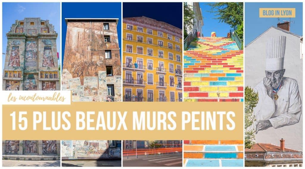 Top 15 des plus beaux murs peints de lyon | Blog In Lyon