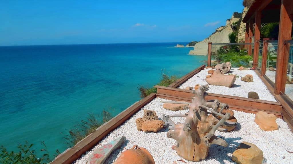 Cape Drastis in Corfu