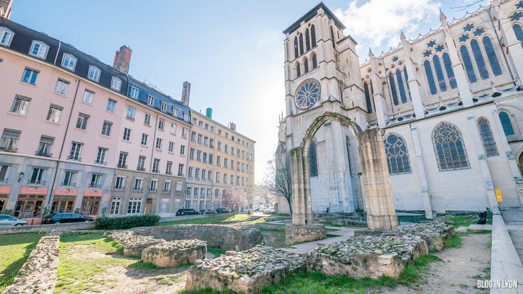 Visiter Lyon - Jardin archéologique Saint-Jean   Blog In Lyon