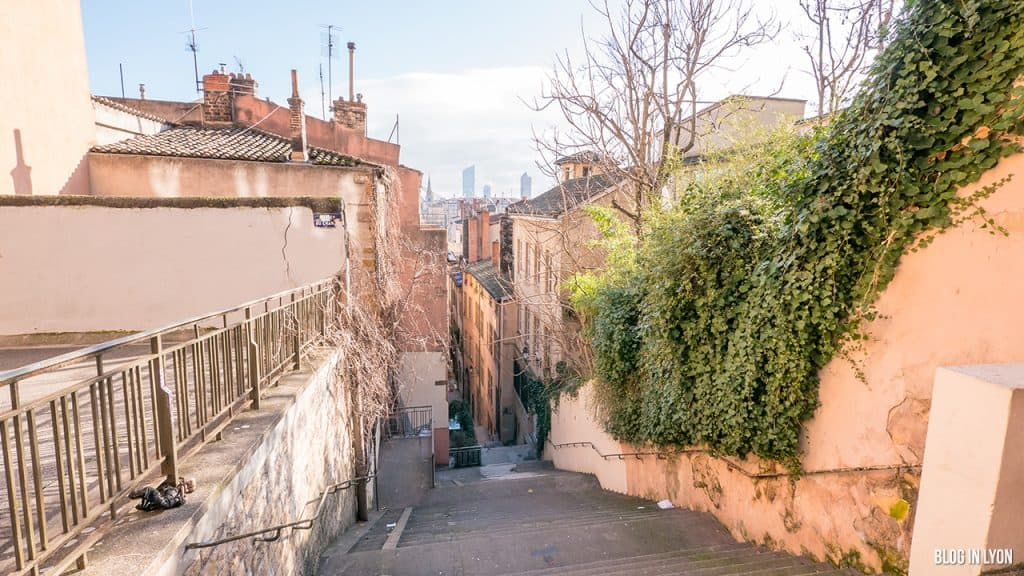 Visiter Lyon - Montée du Change   Blog In Lyon