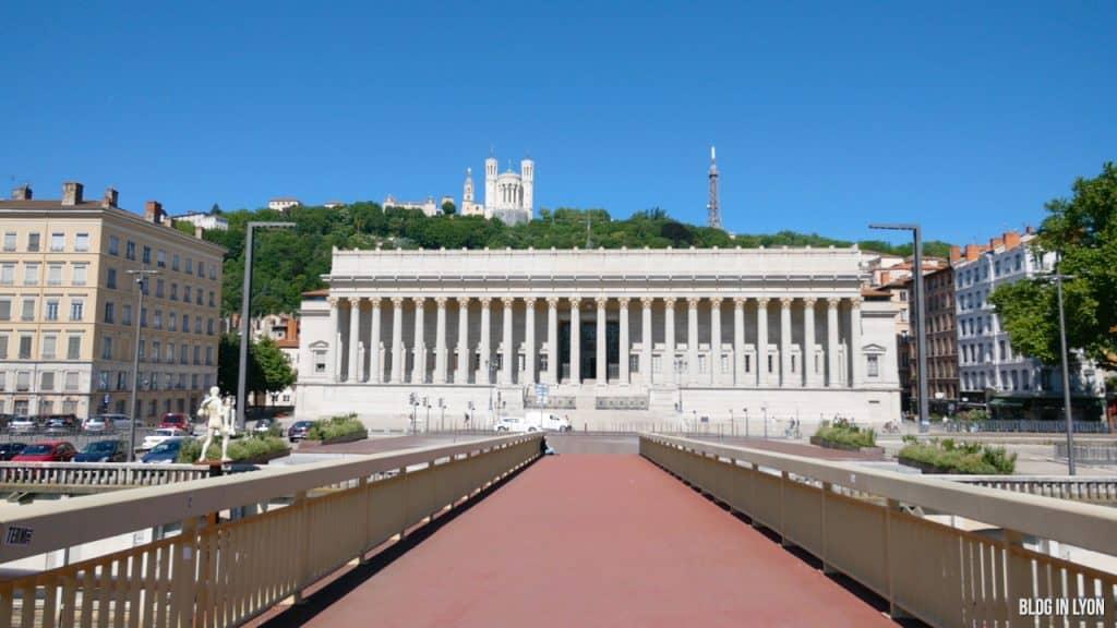 Visiter Lyon -  Palais de Justice   Blog In Lyon