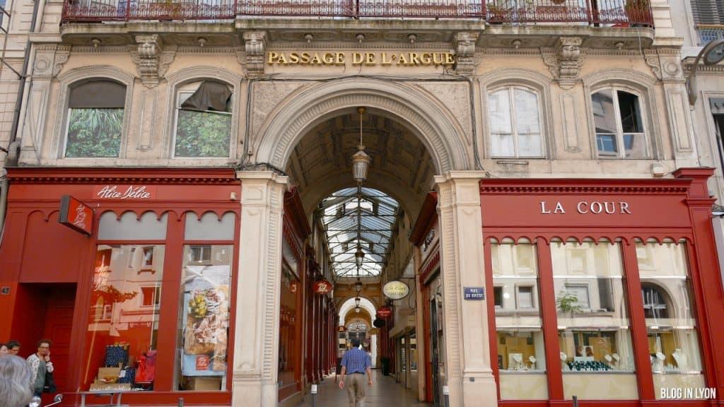 Visiter Lyon - Passage de l