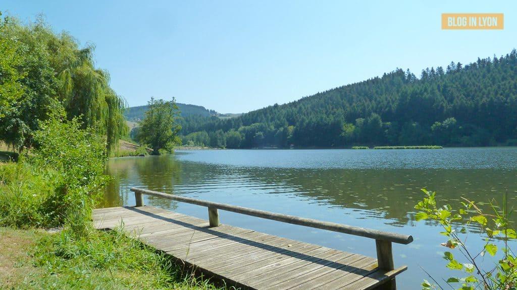 Lac des Sapins- Baignades autour de Lyon | Blog In Lyon