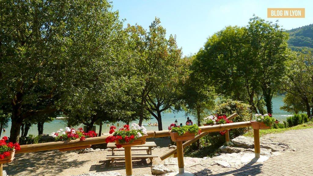 Où se baigner près de Lyon - Ile Chambod | Blog In Lyon