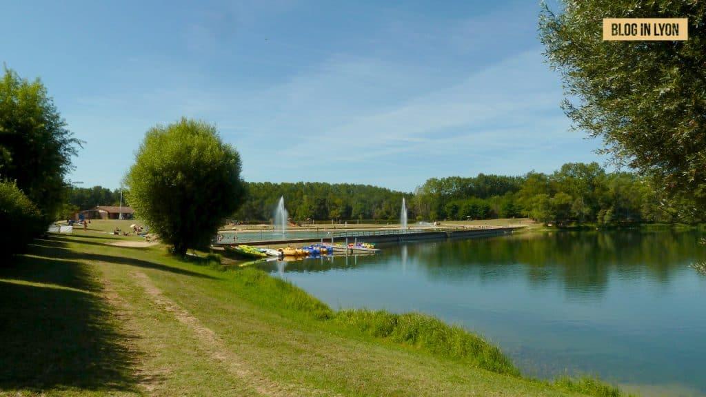 Lac de Cormoranche - Baignades autour de Lyon | Blog In Lyon