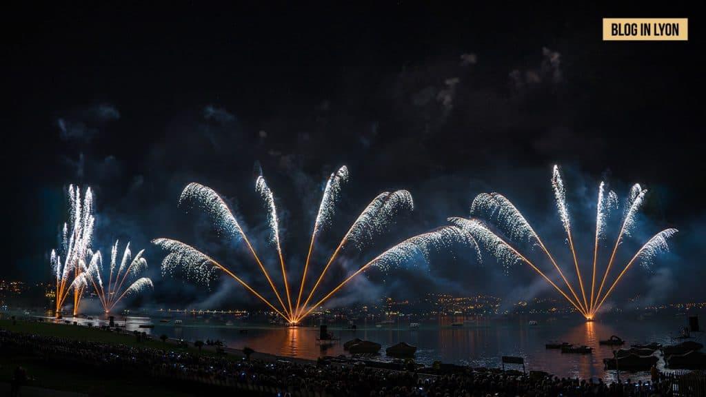 Feu d'artifice lac Annecy 2019   Blog In Lyon