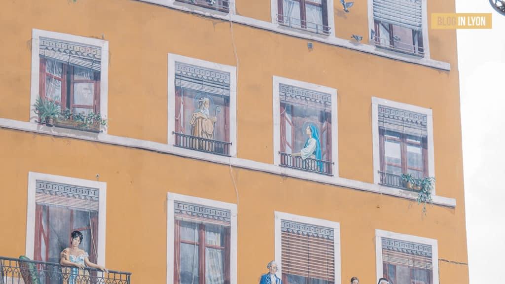 Secrets de Lyon - Fresques et murs peints | Blog In Lyon